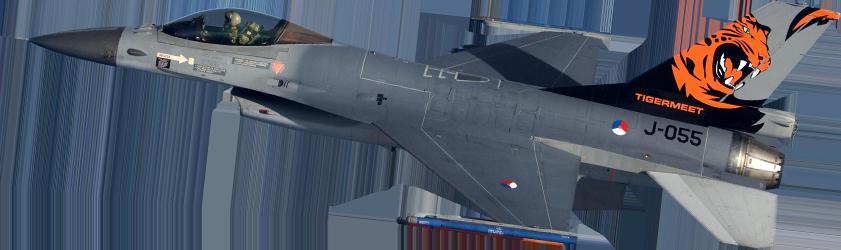 f16 in de lucht