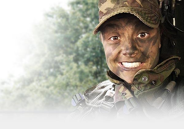 daphne met camouflage
